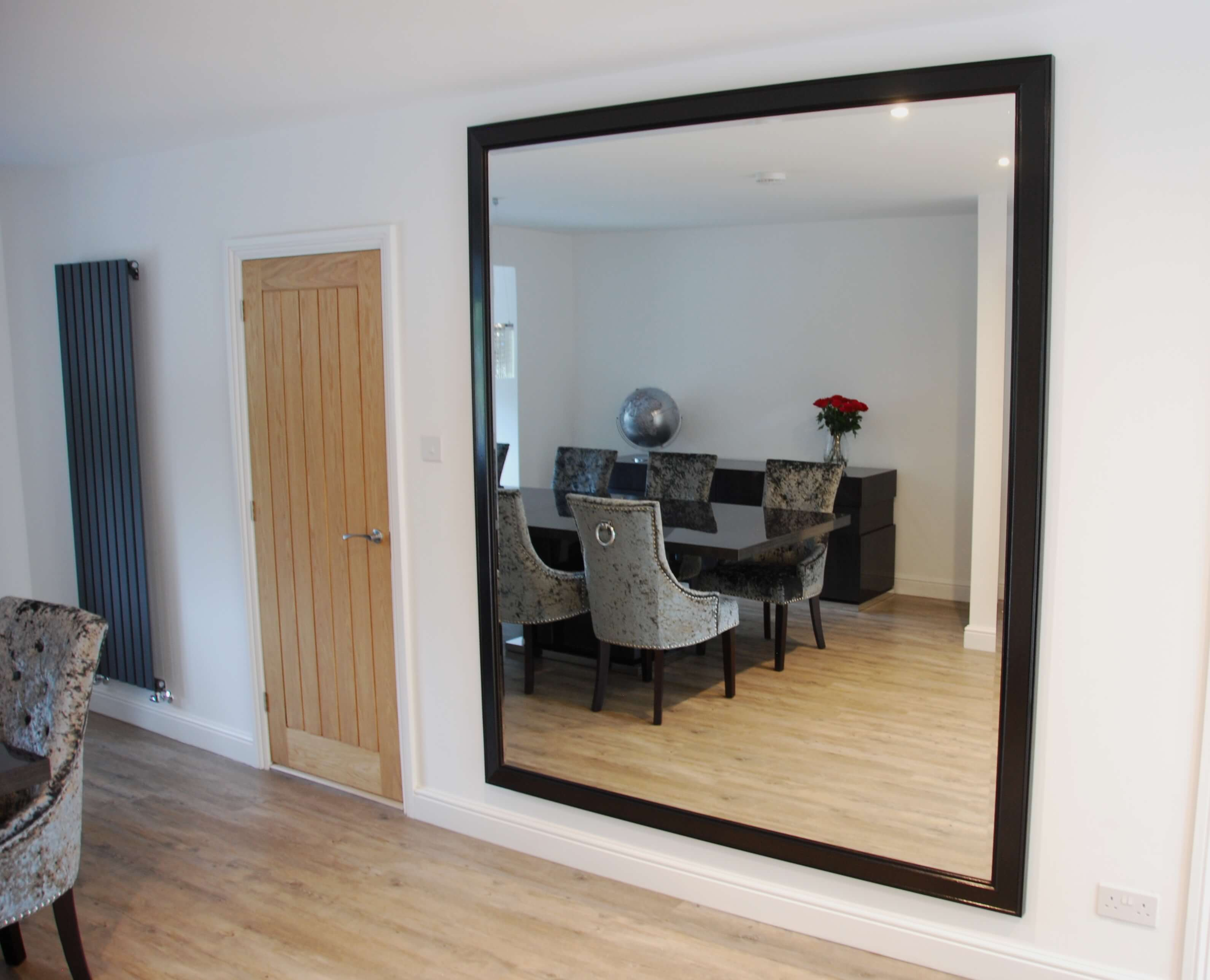 Crafting a large, bespoke mirror