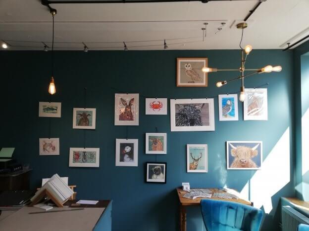the caversham picture framer, exhibition, reading, lauren philliban