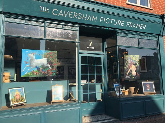 The Caversham Picture Framer, Ginny Skinner Exhibition