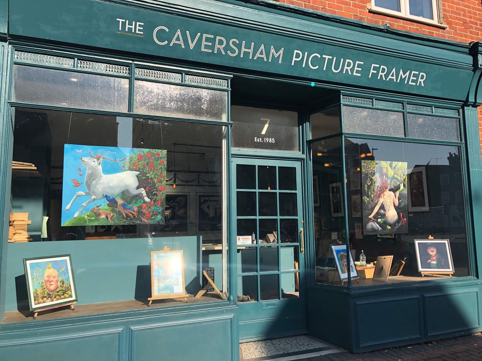 The Caversham Picture Framer, Ginny Skinner Exhibition
