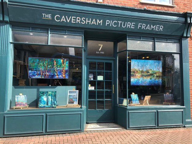 Cat Croxford, The Caversham Picture Framer Exhibition