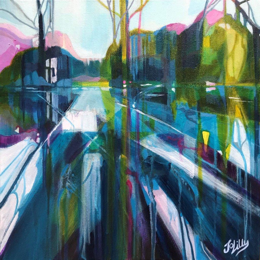 Jo Lillywhite, Woodcote ponds