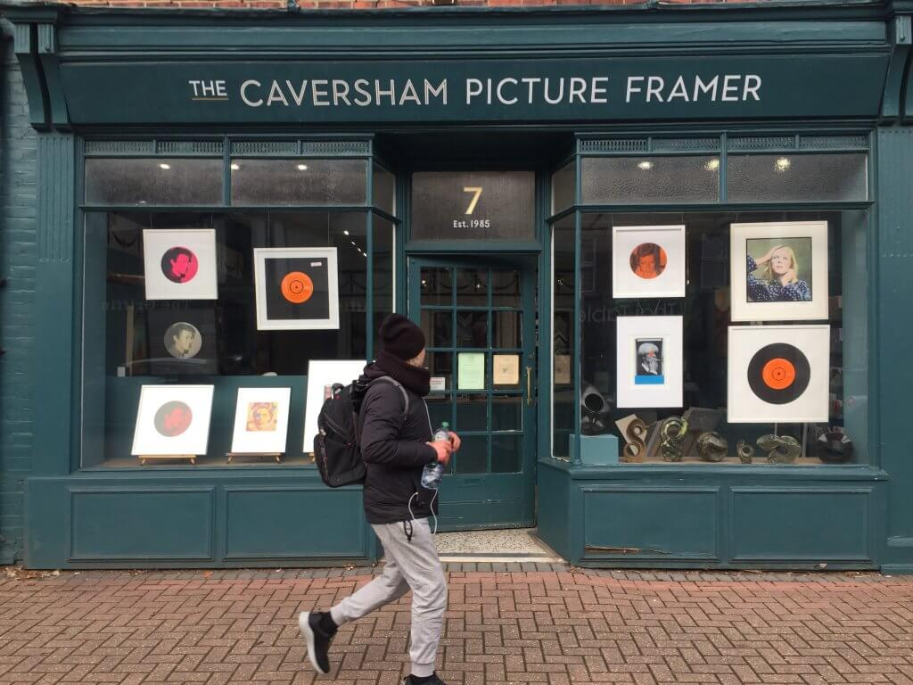 caversham framer window